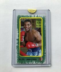 Milllhouse Tobacco Products Rare Mike Tyson Mini Card 209 Numbered 5 Of10
