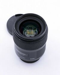 Sigma Art 35mm F/1.4 Dg Lens For Nikon Dslr Cameras