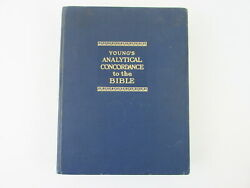 Young's Analytical Concordance Of The Bible 22nd Edition 1980 Hardcover