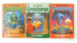 Goosebumps Books Rl Stine [haunted Mask 2 Letand039s Get Invisible Beast From East]