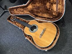 Ovation 1616 Vintage Classical Acoustic Electric Guitar 1979 Usa With Hard Case
