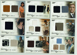 James Bond Archives 2009 Complete 27 Card Relic Costume Set Qc01-qc27 All 058