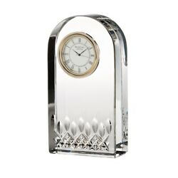 Waterford Crystal Giftology Lismore Essence Clock, No Box