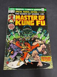 Special Marvel Edition 15 1973 Master Of Kung Fu 1st Appearance Shang-chi Lot