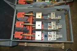 Square D Fusible Branch Switch 800 Amp 3-pole 600vac Qmb-367-w