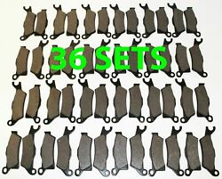 36 Sets 2012 2013 Can-am Renegade 800 / 800r Front And Rear Brakes Brake Pads