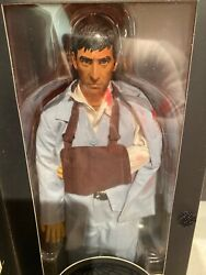 How2work Scarface Tony Montana Al Pacino Blue Suit Figure Bloody 200 Made New