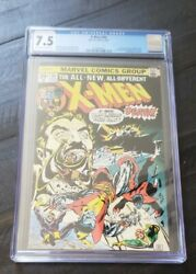 X-men 94 Cgc 7.5 2nd App Of New X-men Team Off White-white Pages