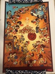 Battle Royale Variant Mondo Poster Print 191/225 Bryan Lee Oand039malley Kevin Tong