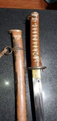 Rare Colors Wwii Japanese Army Officer's From Military Police Extremely Rare