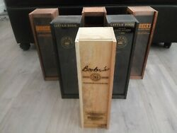 Lot Of 6 Booker's Wooden Boxes - Little Book 30th Anniversary Wood Box