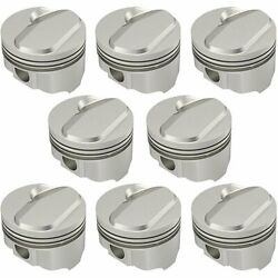 United Engine Machine Ic9981.060 Chevy 434ci Stroker Fhr Forged Pistons Solid Do