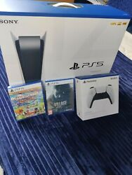 Ps5 Console - Disc Edition - Brand New Sealed Bundle