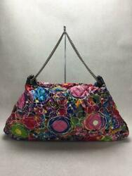 Print A37717 Chain Quilting Shoulder Bag From Japan