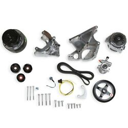 Holley 20-136p Ls Complete Accessory Drive Kit Gm Ls-series Engines High Mount P