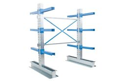 Double Sided Cantilever Warehouse Racking - Starter And Extension Bays