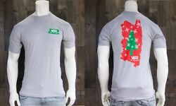 New Vans Off The Wall Tree Graphic Classic Fit Gray Mens S S T Shirt RVNS 7
