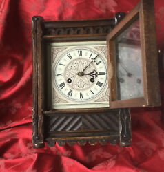 Arts And Crafts Clock Restoration Project With Beautiful Dial