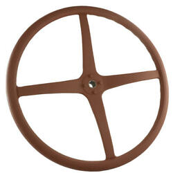 Model A Ford Steering Wheel - Splined Hub - Red - Imported 28-22604-1
