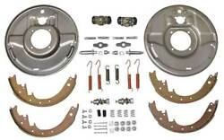 Hydraulic Brake Front Backing Plates - Front - For 1-3/4 Drum - Ford - Usa Made