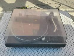 Technics Sl-1900 Turntable Direct Drive Automatic System Used Tested Working F/s