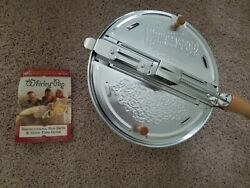 Wabash Valley Farms Whirley Pop, 3 Minute Popcorn Popper