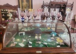 Antique Countertop Showcase H.w Williams And Co. Wholesale Druggists Ft. Worth Tx