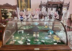 Antique Countertop Showcase H.w Williams And Co. Wholesale Druggists Ft. Worth, Tx