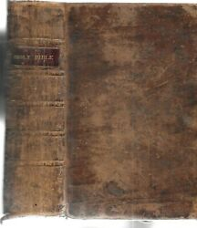 The Holy Bible. Walpole, N.h. 1815. The First Bible Published In New Hampshire