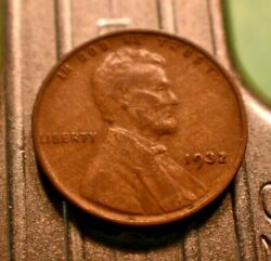 1932-p Lincoln Wheat Cent 1c With Woodie Surface Errors. 7223