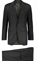 Giorgio Armani Made To Measure Men's Suits 44 And 46 - 100 Wool, Made In Italy