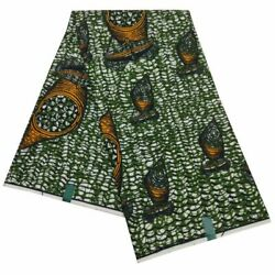 Printed Fabric 6 Yards Nigerian African Polyester High Quality Textiles Fabrics
