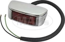 Ford Pickup Truck Tail Light Assembly - Panel Truck - Chrome Housing - Right
