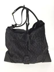 Hermes Silk Nvy With Pouch Silk Navy Fashion Shoulder Bag 8979 From Japan