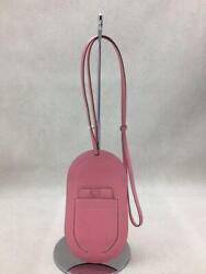 Hermes 20ss Y Stamped Leather Pink With In-the-loop Shoulder Bag From Japan