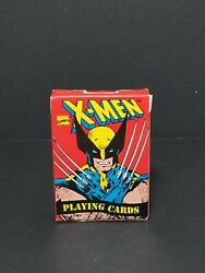 Sealed Vintage 1993 X-men Playing Cards Deck, Wolverine Made In Usa