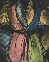 Jim Dine Original Signed Color Woodcut With Etching Bill Clinton Robe 1992