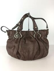 Celine Pillow Small 2way Deerskin Leather Hand Leather Shoulder Bag From Japan