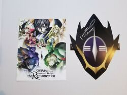 Signed Code Geass Lelouch Of The Rebellion Poster By Johnny Yong Boschrebecca
