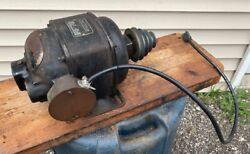 Rare Early Vintage Craftsman 1/2 Hp Repulsion Induction Type R Electric Motor