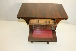 Exquisite Antique Regency Style Rosewood Writing Table, 19th C.