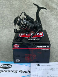 Penn Pursuit Lll 3000 Puriii3000 Spinning Fishing Reel 6.21 Ratio New In Box`