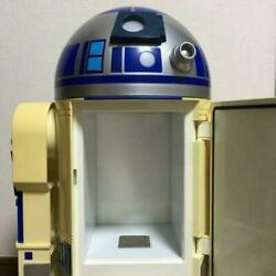 Used R2-d2 Star Wars Drink Cool And Hot Refrigerator Limited 1000 Pieces Rare