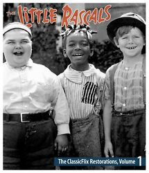 The Little Rascals - The Classicflix Restorations Vol. 1 Blu-ray - Ships Free