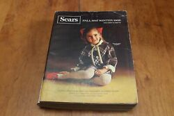 Vintage Sears, Roebuck And Company Fall Winter 1968 Catalog 1,086 Pages Chicago