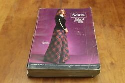 Vintage Sears, Roebuck And Company Fall Winter 1972 Catalog 1618 Pages Minneapolis
