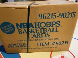 1990 Nba Hoops Series 2 Basketball Factory Sealed Case 20 Boxes