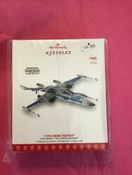 Hallmark Ornament Sdcc Nycc 2017 Star Trek Event T-70 X-wing Fighter Exclusive