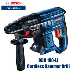 Bosch Gbh 180-li Lithium Brushless Hammer 18v Hammer/percussion Electric Drill