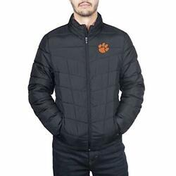 Spyder Clemson Tigers Menand039s Full Zip Pelmo Gameday Puffer Jacket Size X-large